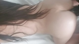 Epic Cream Pie - White Teen Girlfriend Drains BBC with Creamy Tight Pussy