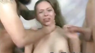 Hardcore Throat Fucking Slut Cries!